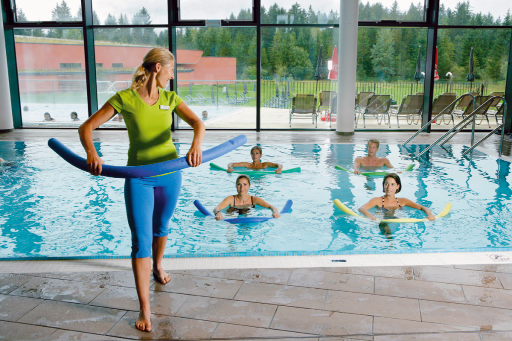 Aquafit in der GrimmingTherme