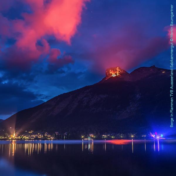 Berge in Flammen TVB Ausseerland Salzkammergut © Martin Baumgartner