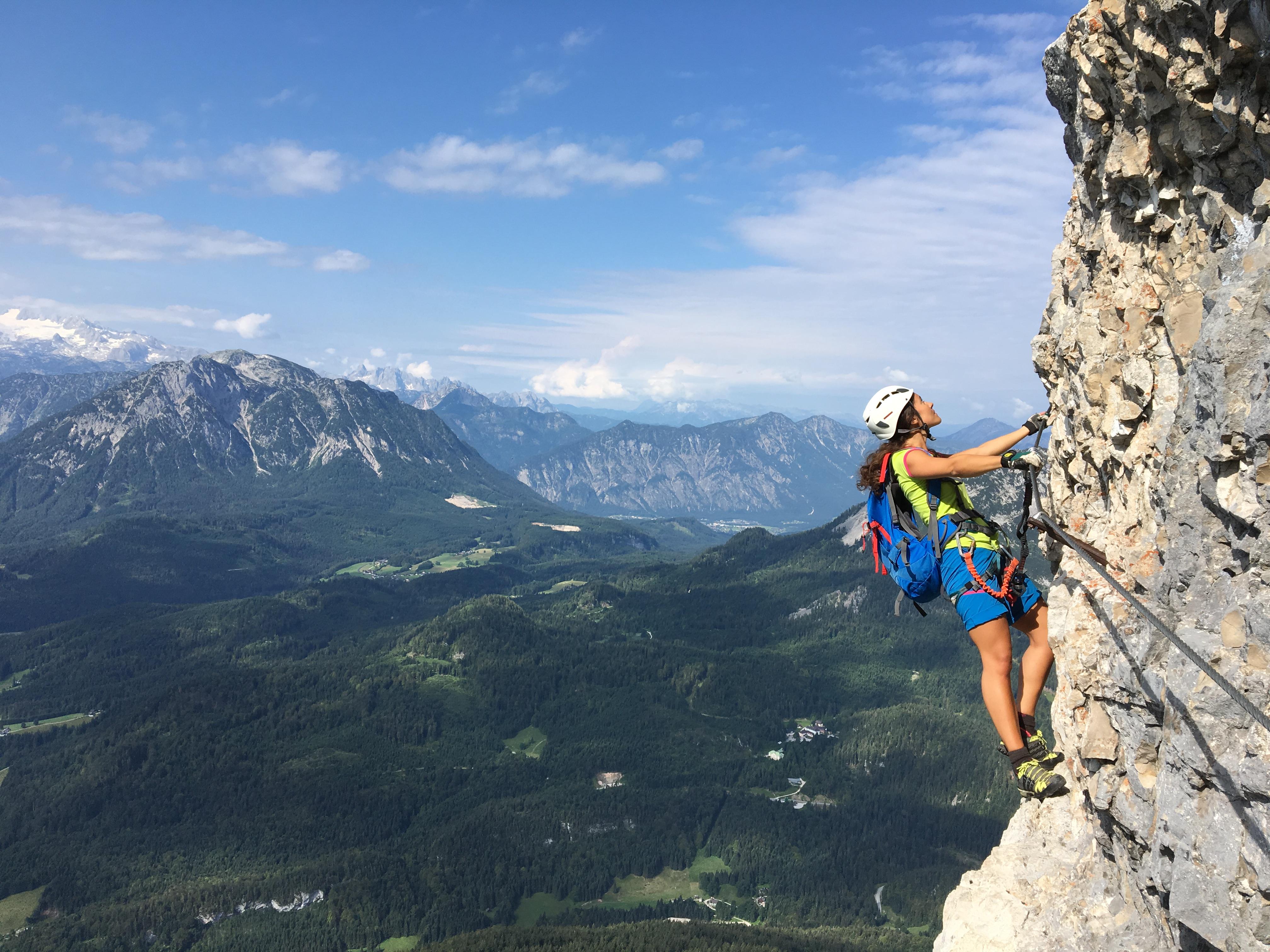 ©Loser Bergbahnen Altaussee Markus Raich Klettersteig Sisi