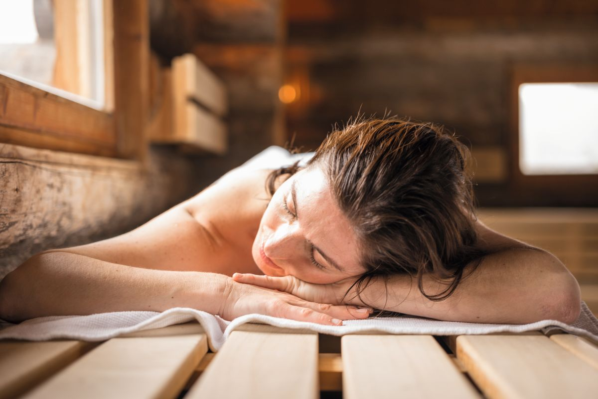 Saunieren und Entspannen