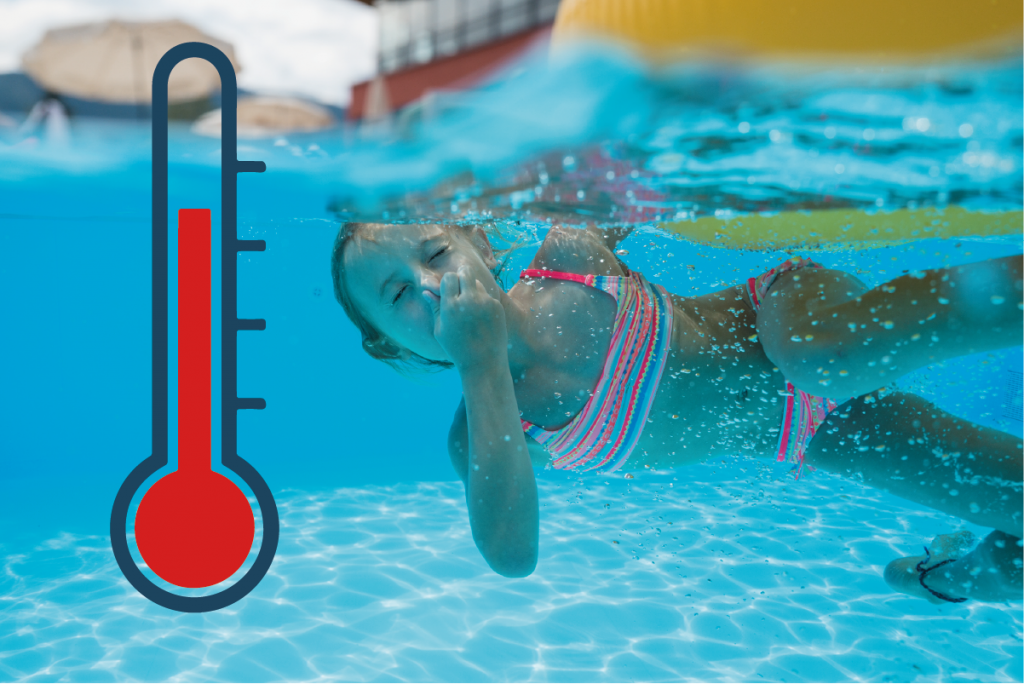 Thermeometer die heißeste Sommeraktion