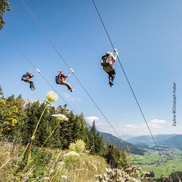 Zipline Christoph Huber©