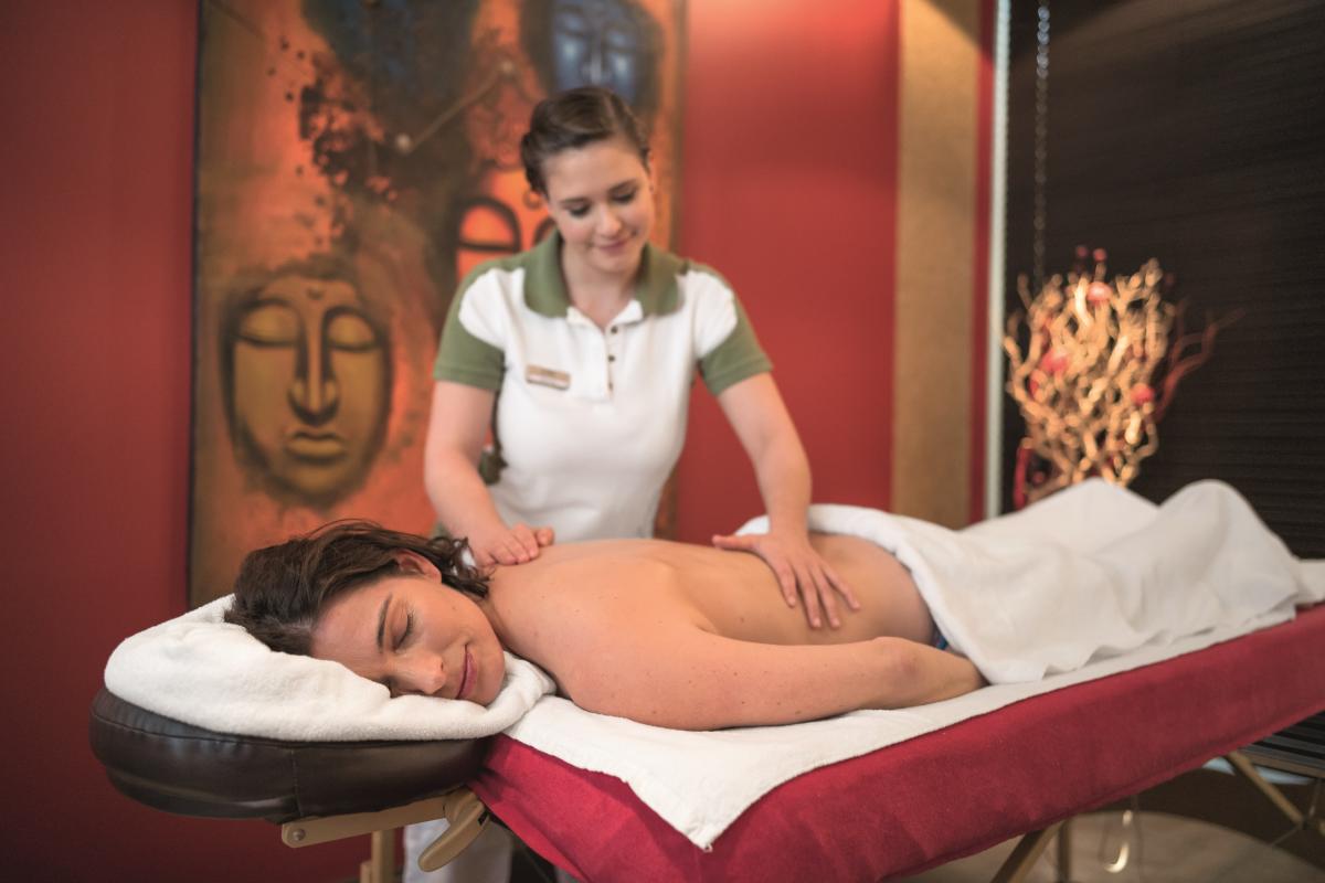 Massage Kosmetik und mehr im Welldiana Club Spa
