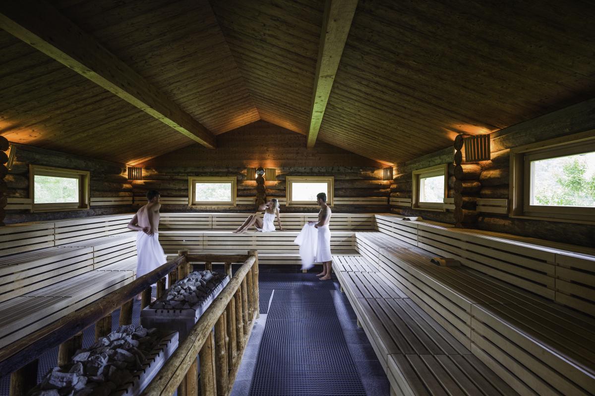 Alm Sauna in GrimmingTherme