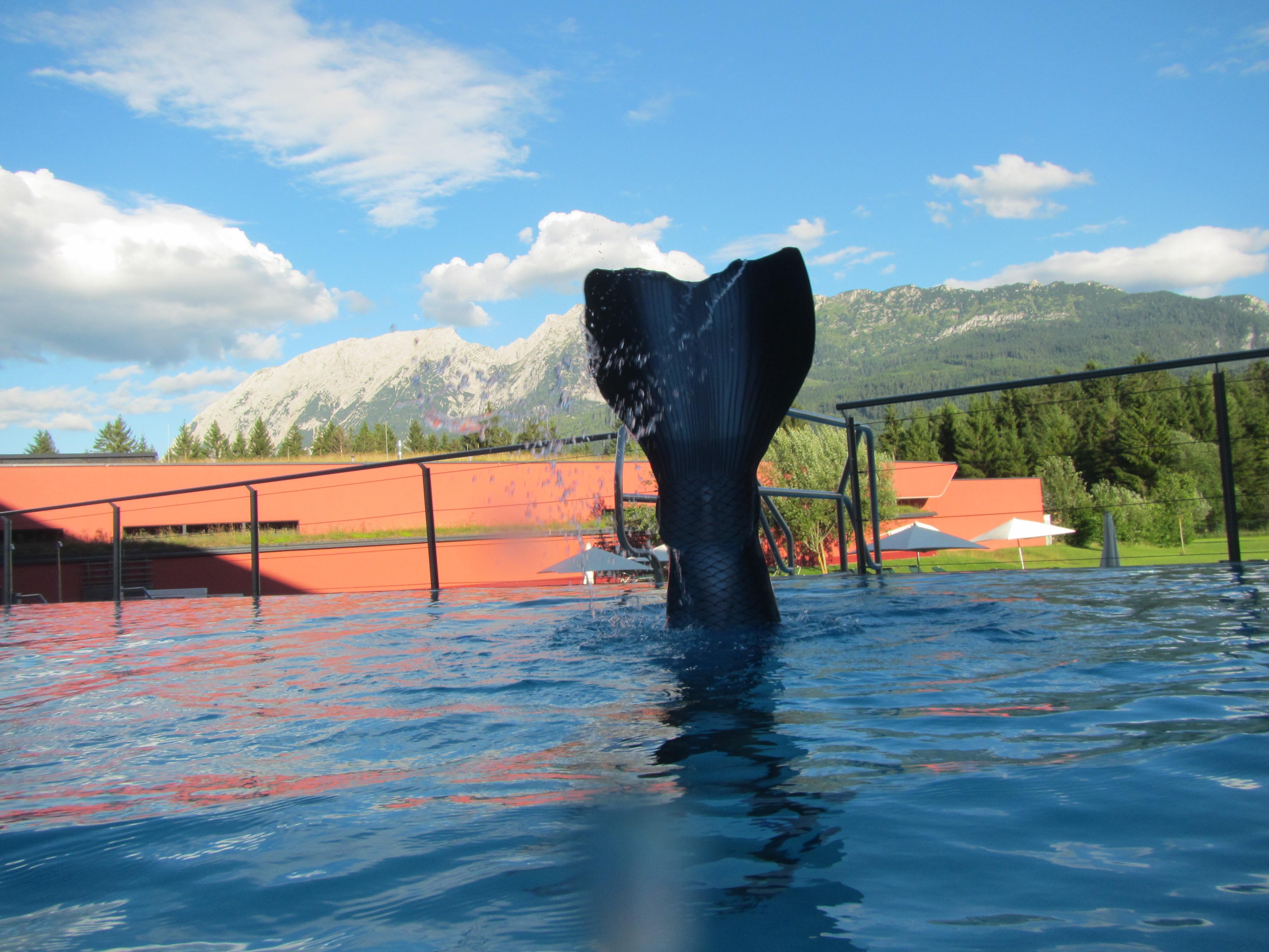 Schwimmschule Flosse Meerjungfrauen