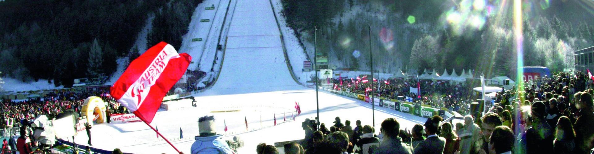 Ski fliegen am Kulm Bad Mitterndorf Tauplitz