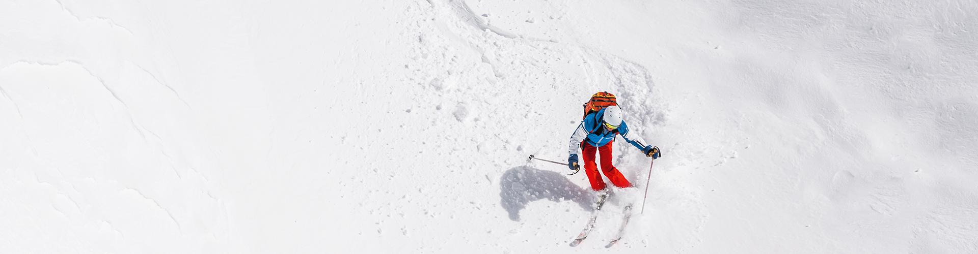 Skifahren im Powderschnee Tauplitz